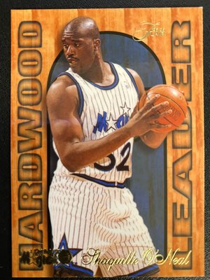 Shaquille O'Neal 1995-96 Flair Hardwood Leader #19