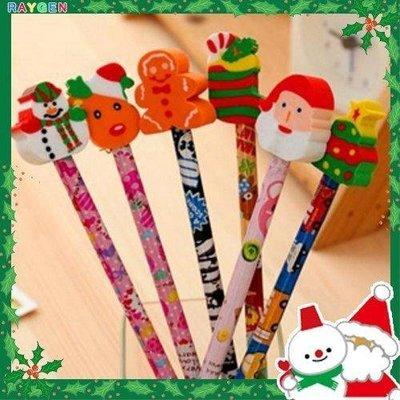 八號倉庫 文具 聖誕節 交換禮物 創意兒童文具 學生獎品 鉛筆加橡皮擦 造型鉛筆橡皮擦【1T116Y574】