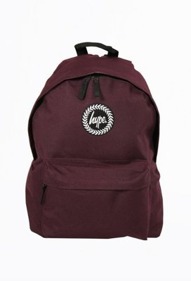 HYPE OXBLOOD BACKPACK 酒紅色 後背包 基本款 深紅色 書包(現貨