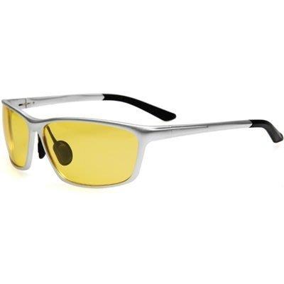 太陽眼鏡 偏光夜視鏡-運動騎行駕駛防護男墨鏡2色73nm5[獨家進口][米蘭精品]