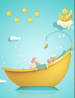 嬰兒洗澡盆寶寶浴盆可坐躺通用新生兒用品兒童沐浴桶 YTL