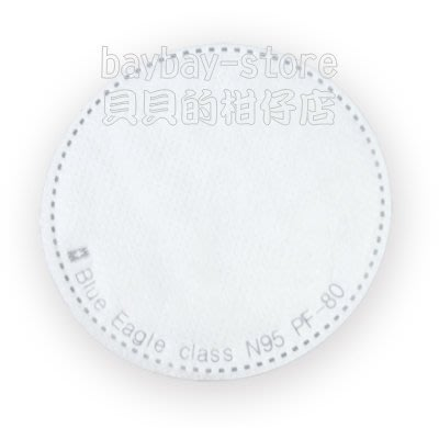 (安全衛生)藍鷹牌超細纖維防塵片PF-80_100%台灣製符合NIOSH N95標準_美規零售區 高雄市