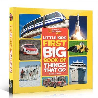 英文原版 國家地理交通工具Little Kids First Big Book of Things That Go啟蒙5