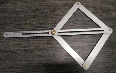 多功能 木工 對角尺 對角加厚 鋁合金材質 可自由伸縮 裁邊 裝潢 工具 角尺