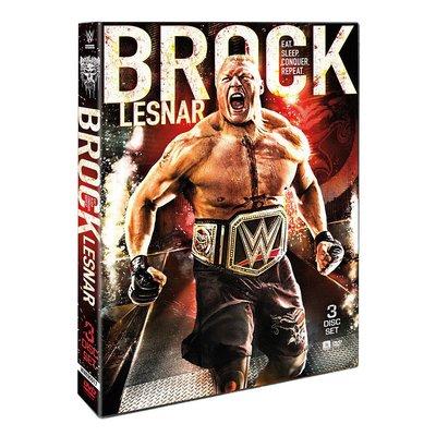 ☆阿Su倉庫☆WWE摔角 Brock Lesnar Eat Sleep Conquer Repeat DVD 野獸專輯