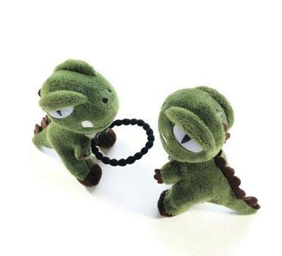 立體恐龍髮箍 共3款髮圈 髮箍 髮夾 頭飾 恐龍飾品 絨毛恐龍【PA】