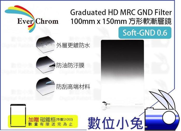 數位小兔【EverChrom Soft GND 0.6 軟式方形漸層鏡】贈磁鐵框 送完為止 ND4 100x150mm