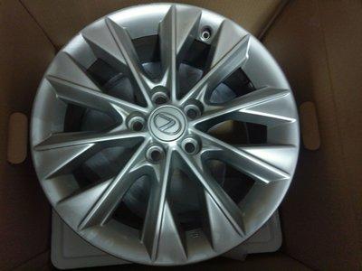 Lexus正原廠17吋鋁圈 適ES  GS  IS  LS  RX  NX  Camry Toyota corolla