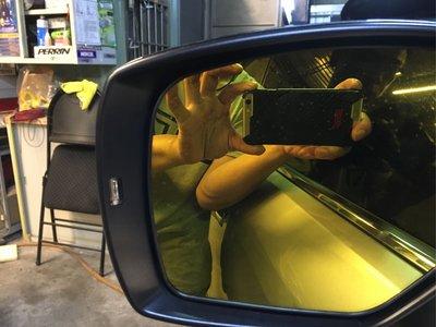 DK改裝精品SUBARU 車系後視鏡方向燈導光片輔助反光片