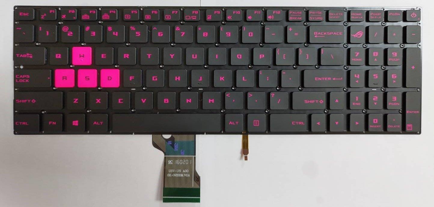 全新 ASUS ROG GL502 筆電鍵盤 (粉色)
