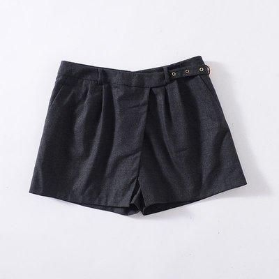 Selina~全新【郭佩玲 J*I*A】簡約氣質裙褲A15S598C---黑38 駝42