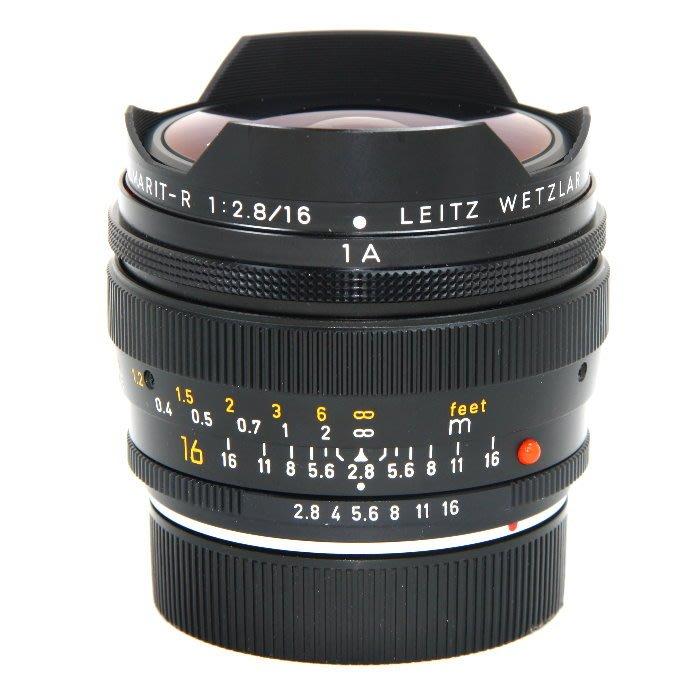 『永佳懷舊』LEICA FISHEYE-ELMARIT-R 16mm F2.8 ROM NO.3009484 ~中古~