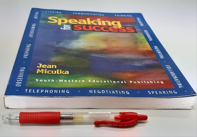 英文口說練習Speaking for Success 《Communicating, Thinking, Presenting, Meeting 》 (全新)