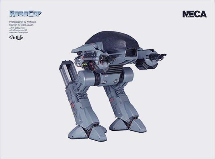 ArtLife @ NECA 2019 ROBOCOP ED209 SOUND 經典 機器戰警 守衛機器人 新版