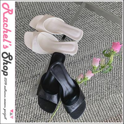 韓國空運*cherrykoko簡約涼夏 圓弧鞋口中跟涼鞋[CK-CB04HWSH2]Rachel's Shop