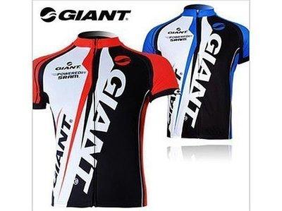 11男女款GIANT 新款捷安特 自新行車車衣 單車服 新腳踏車衣 短袖上衣 兩色可選