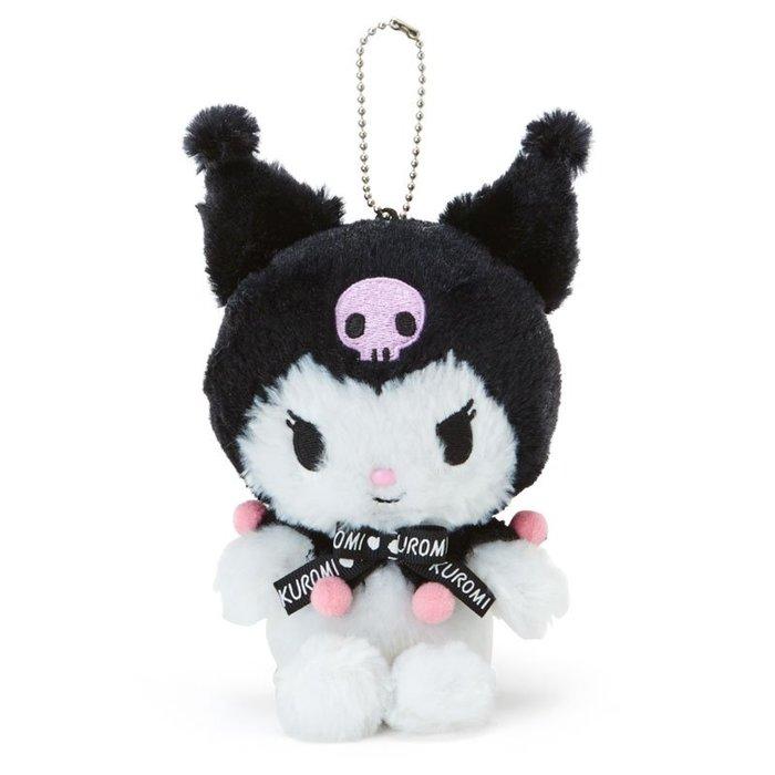 *Miki日本小舖*日本㊣版三麗鷗KUROMI庫洛米造型珠鍊吊飾/掛飾