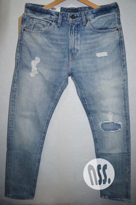 「NSS』Levis MADE & CRAFTED LMC 破壞 牛仔褲 W31 W36