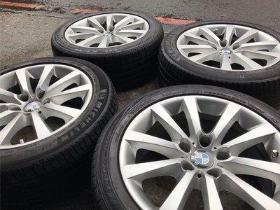 二手美品 BMW 原廠 18吋鋁圈 F01 F10 F11 F12 F30 F31 F32 F3X X1 X3 E90