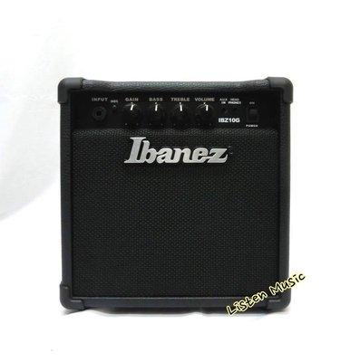 立昇樂器 Ibanez IBZ10G 電吉他 音箱 10瓦 可AUX IN 公司貨