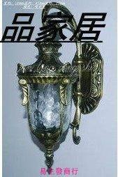 【易生發商行】歐式壁燈/戶外壁燈/庭院燈/鏡前燈田園/B1090F6369