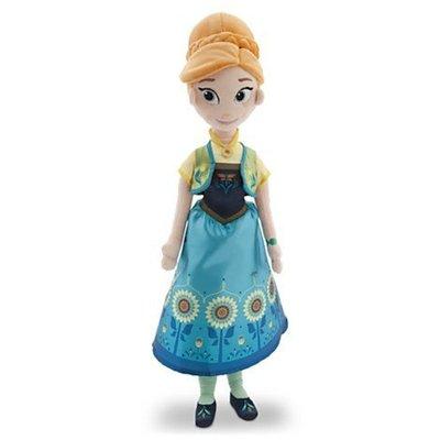 JUJU美國最新冰雪奇緣Elsa&Anna新款造型手抱娃娃