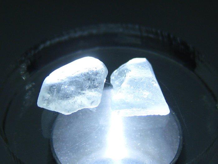 拓帕石 Topaz 天然無燒無處理 自然藍 原礦 標本 礦石 09【Texture & Nobleness 低調與奢華】
