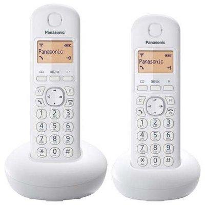 【101-3C數位館】 Panasonic 國際牌數位DECT 無線電話 KX-TGB212 (松下公司貨) 白色