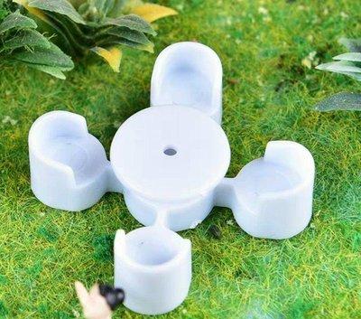 ╭☆不搭嘎樂園☆╯建築模型↗1/75  1/150圓形桌椅組