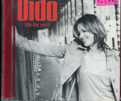 *還有唱片行* DIDO / LIFE FOR RENT 二手 Y0640