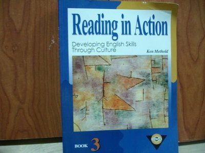 【愛悅二手書坊 10-09】Reading in Action(附光碟)