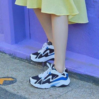南 2019 7月 REEBOK ROYAL TURBO IMPULS 老爹鞋 復古 慢跑 Eh3464 白色 藍黑色