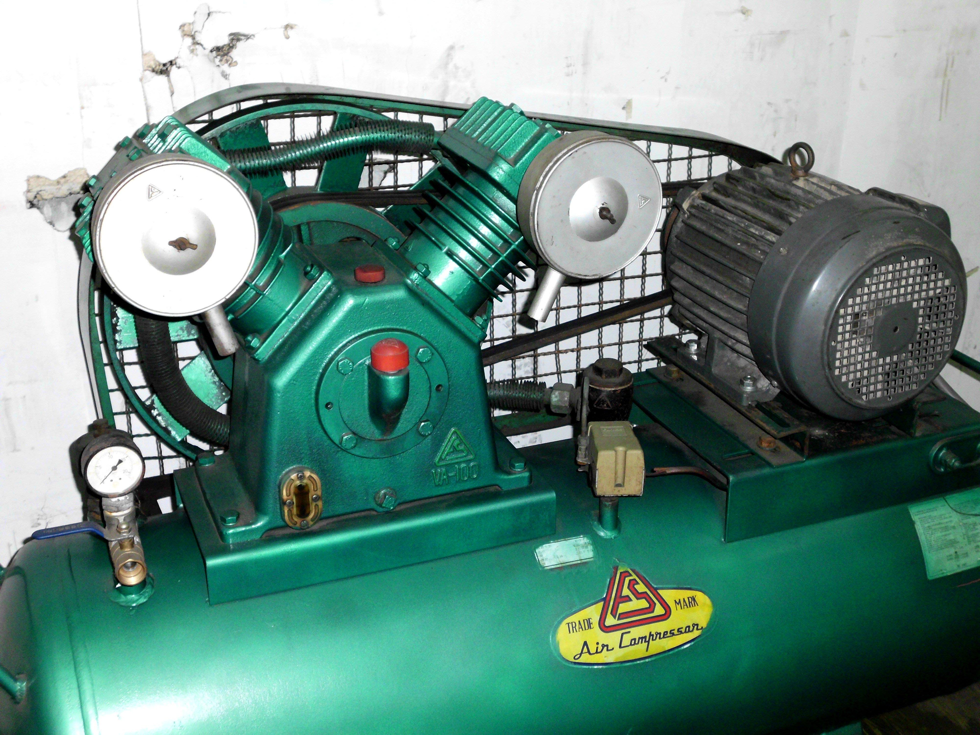 中古7.5HP復盛空壓機 三相220V(中古機庫存 不定期更新)