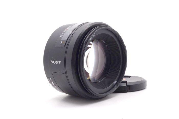【台中青蘋果】Sony 50mm f1.4 SAL50F14 二手 A-Mount 定焦鏡 公司貨 #30366