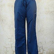 jacob00765100 ~ 正品 NIKE 藍色 防風運動休閒長褲 Size: S