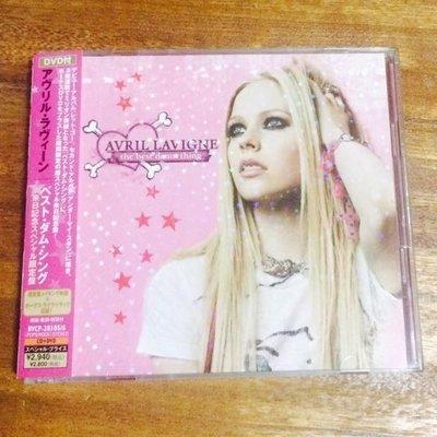 【悅耳音樂】艾薇兒Avril美麗壞東西The best damn thing日本無敵豪華限量影音版cd+dvd《附側標》