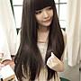 今日下殺189再送(髮網)~現貨【P17】甜美可愛長直髮蓬鬆高溫絲全頂式假髮3色