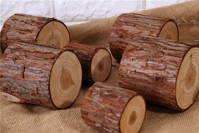 居家擺件 復古zakka雜貨美式衫樹木樁木質擺件拍照背景道具圓形木頭禮品店解憂大鋪子