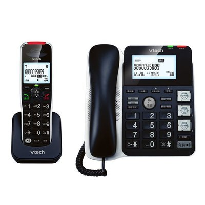 Vtech偉易達 CRL54102 TW(智慧增音助聽子母機電話機)