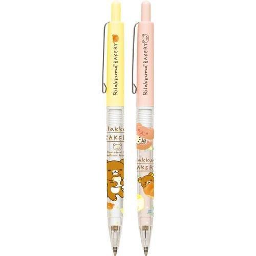 拉拉熊自動鉛筆--日本SAN-X拉拉熊/懶懶熊吐司麵包自動鉛筆/兩款--秘密花園