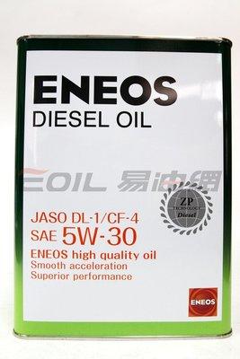 【易油網】 ENEOS DIESEL 5W30 5W-30 新日本石油 日石 出光 合成機油