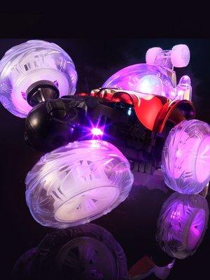 積木城堡 迷你廚房 早教益智遙控車特技翻斗車充電動翻滾搖控大號越野遙控汽車男孩兒童玩具車