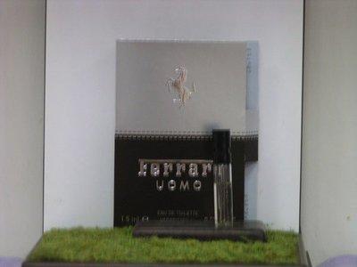 @戀戀針管--Ferrari Uomo 法拉利 經典 男性1.5ml 噴式針管香水 [全新商品]