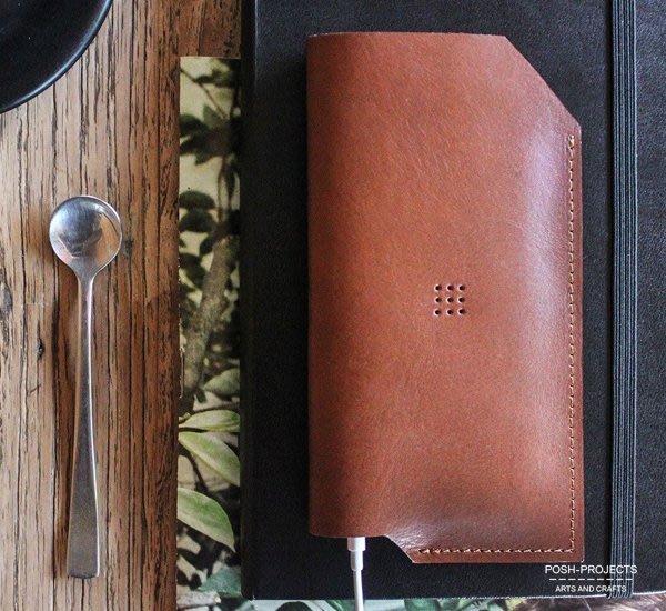 GOODFORIT / 南韓設計廠牌POSH-PROJECTS一體成型義大利手工皮革手機保護套6Plus/6SPlus
