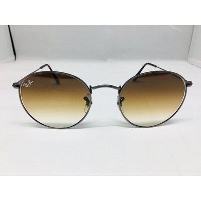 RAY BAN雷朋RB3447-N 004/51經典復古金屬圓框太陽眼鏡