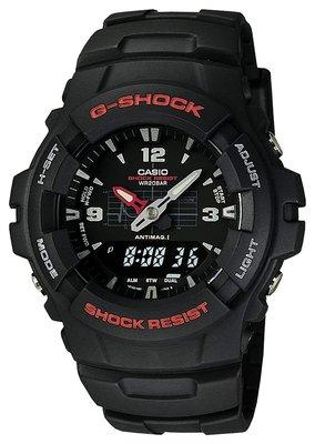 日本正版 CASIO 卡西歐 G-Shock G-100-1BMJF 男錶 男用 手錶 日本代購