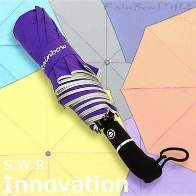 【洋傘職人】RB-SWR -48吋大型機能潑水自動傘 (紫) / 雨傘防風傘大傘抗UV傘陽傘洋傘防潑水傘撥水傘 (免運)