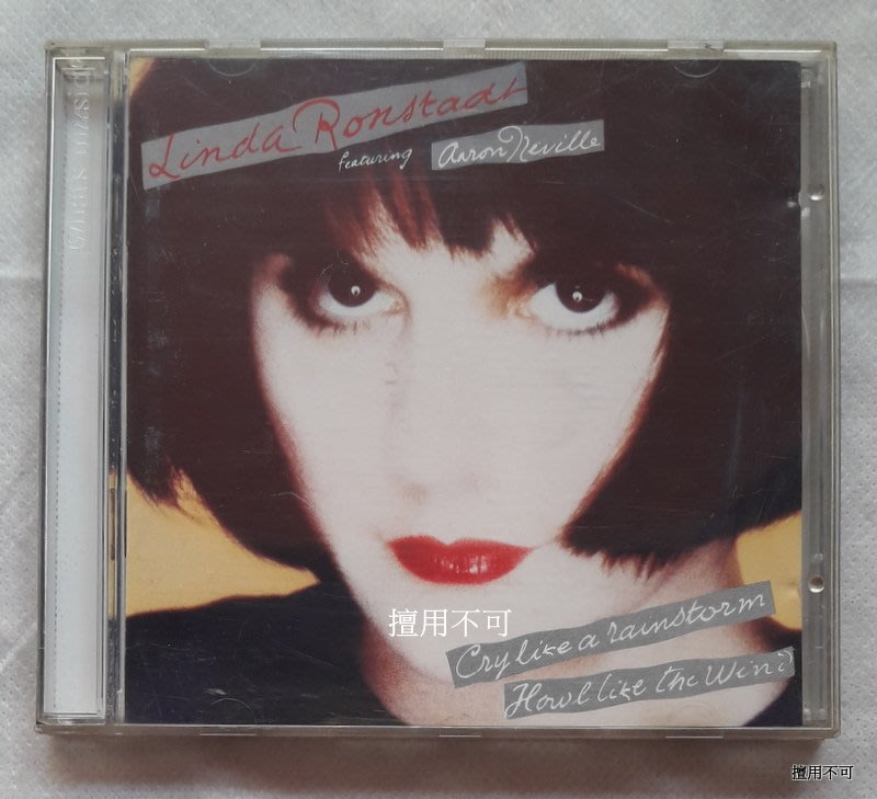 Linda ronstadt 琳達朗絲黛 Cry like a rainstorm-Howl like the wind