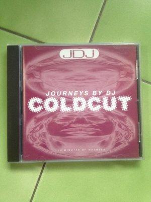 (絕版)Coldcut冷盤二人組-Journeys By DJ: Coldcut(DJ SET電音經典名盤,JDJ)