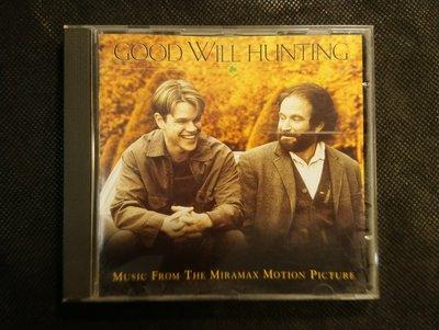 CD/HG21/電影原聲帶/英文/GOOD WILL HUNTING 心靈捕手 / 非錄音帶卡帶非黑膠